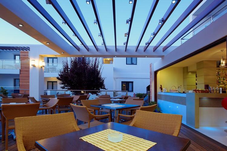 Minos village in chania crete hotels in agia marina for Design hotel crete